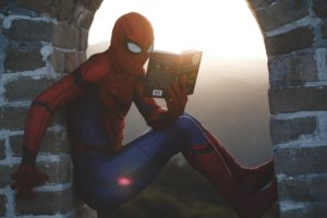 spiderman livre de voyage